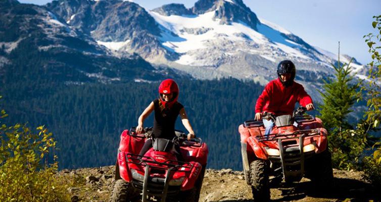 Choose your ATV Tour Whistler