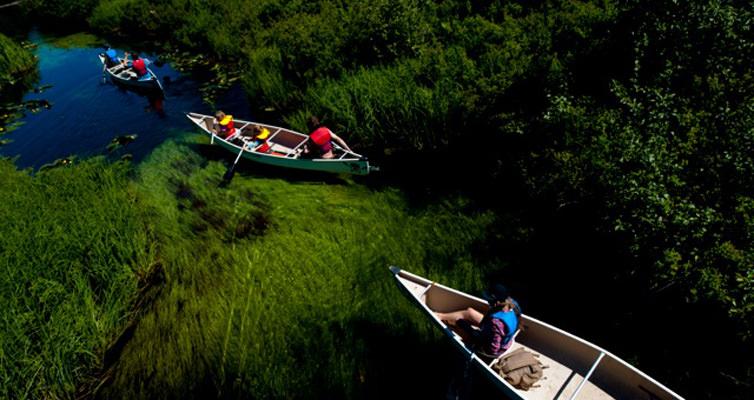 canoe-slide