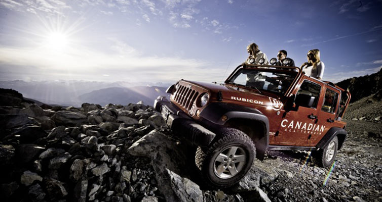 Today's Jeep 4x4 Tours Whistler
