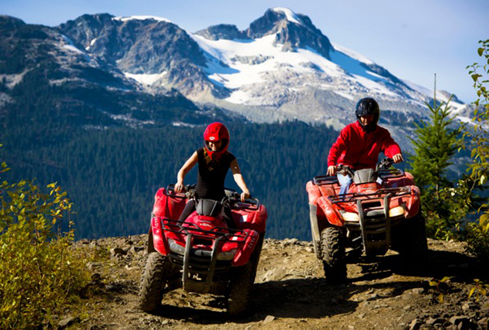 ATV Adventure Tours in The Callaghan Valley