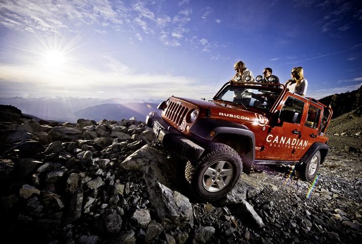 Jeep Tour on Blackcomb Mountain