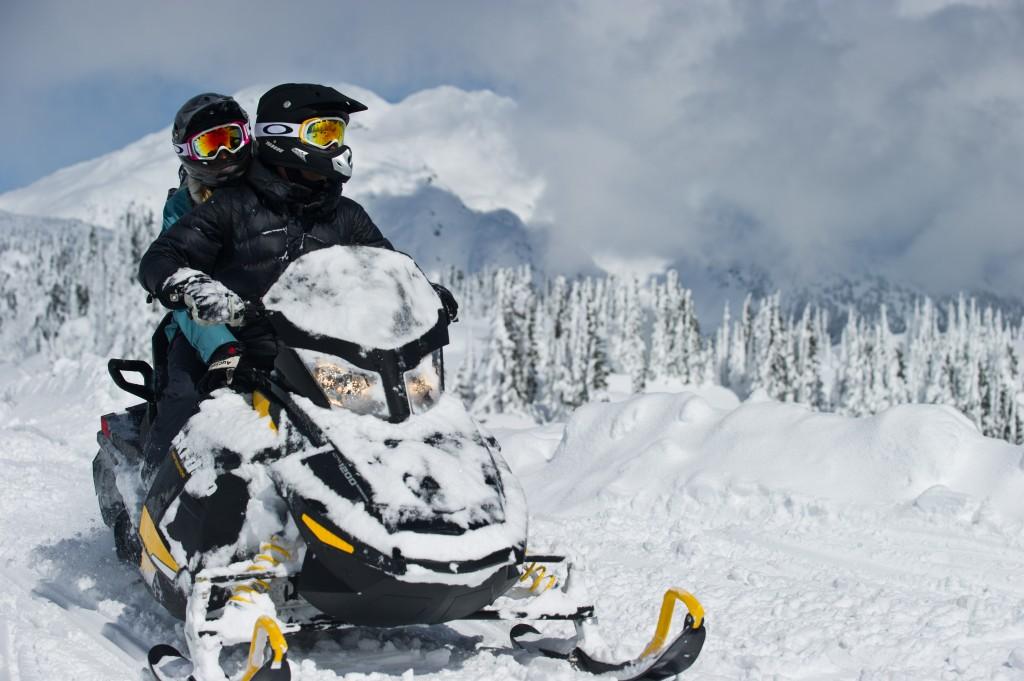 Snowmobile deals whistler