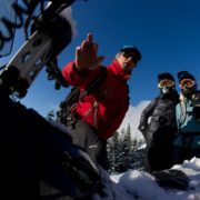 Canadian Wilderness Adventures snow safety course Whistler