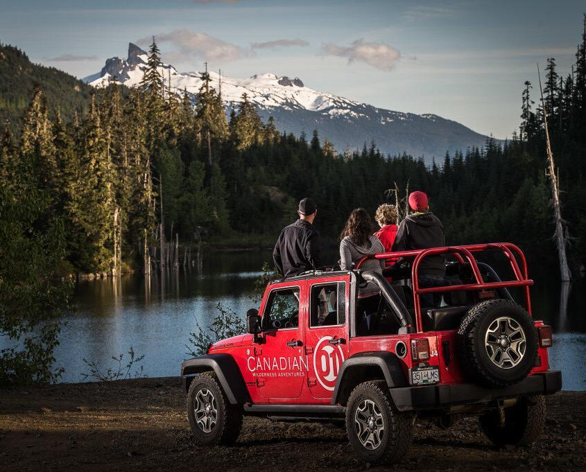 Whistler Callaghan Jeep 4x4 Tour