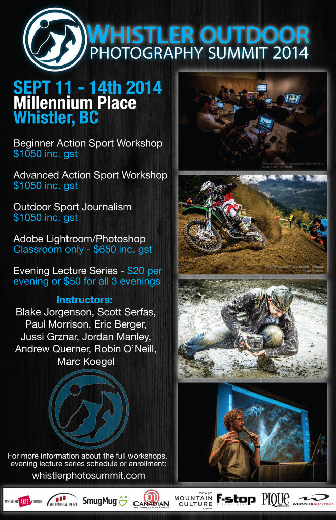 Whistler Outdoor Photography Summit poster
