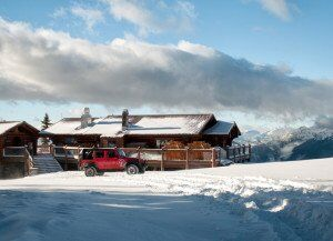 Crystal Hut Whistler by jeep