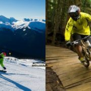 Play in Whistler in both summer and winter