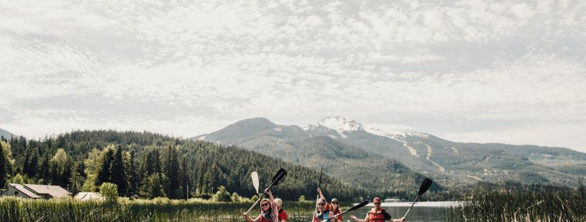 Vancouver We Love You with Whistler Canoe Tour