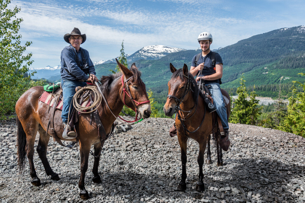 Canadian Wilderness Adventures Horseback Tour