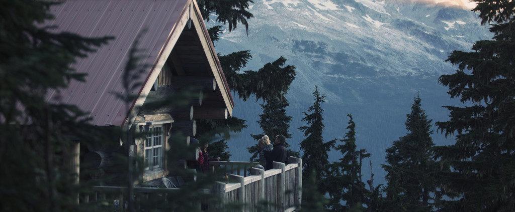 Canadian's backcountry Cabin on Sproatt Mountain