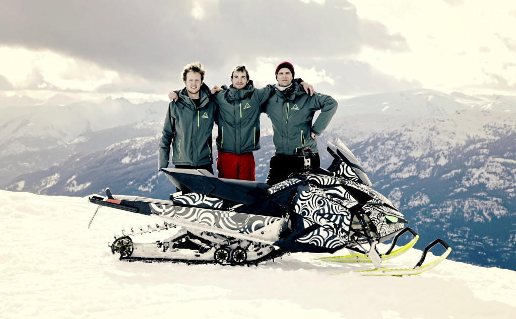 Taiga Motors Team. Photo by Calling Mountain Productions.