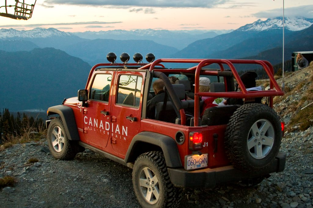 JEEP 4X4 Tours Whistler | Off Road Tours
