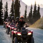 ATVs on Blackcomb Mountain
