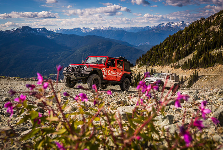 Jeep Tour on Blackcomb Mountain