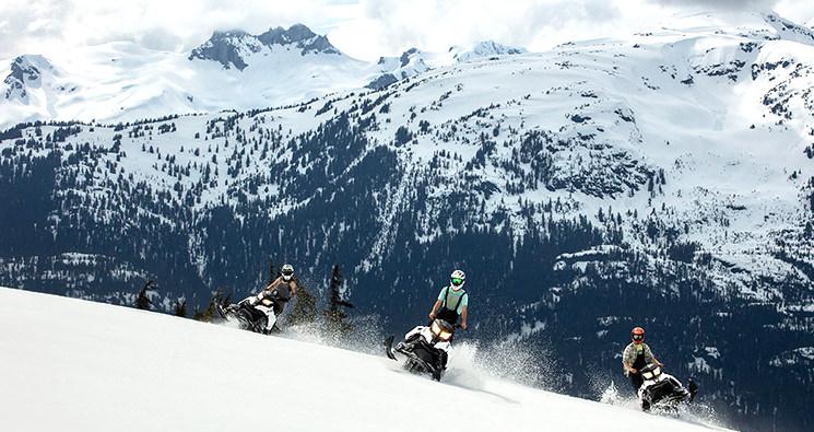 ATV & Snowmobile combination tours