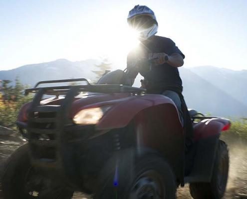 Canadian Wilderness Adventures Whistler ATV Tour Callaghan