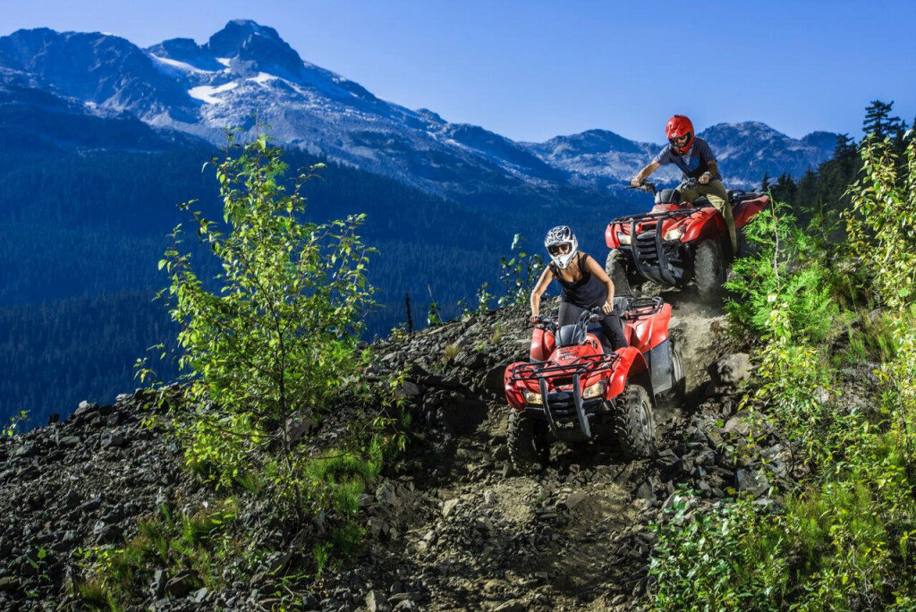 Canadian Wilderness Adventures Whistler ATV Tour
