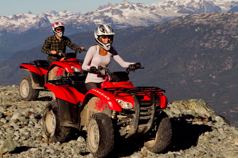 Blackcomb Whistler ATV Tours