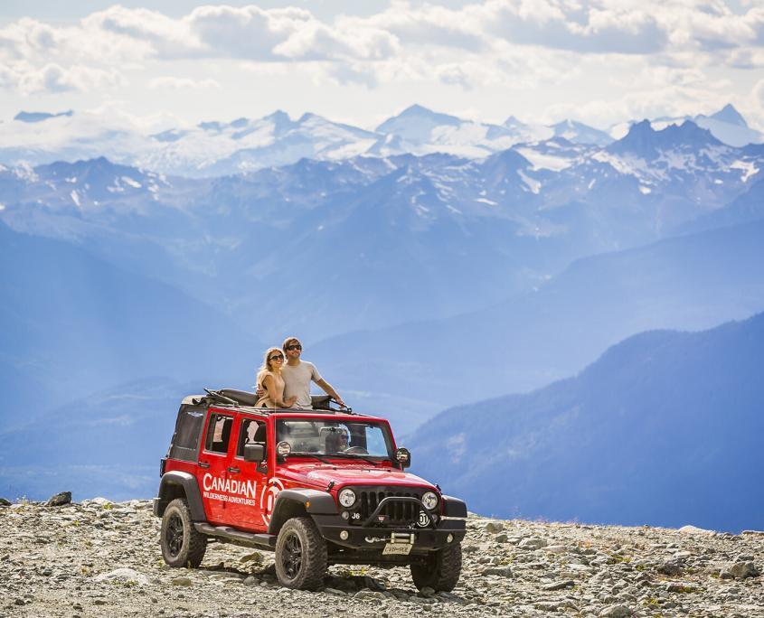 Whistler Blackcomb Jeep Tour