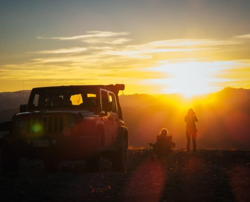 Whistler Blackcomb Jeep Tour Sunset