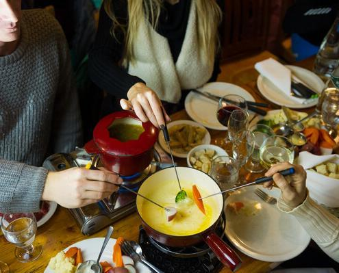 Fondue tour at the Crystal Hut with Canadian Wilderness Adventures Whistler