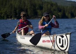 Canadian Wilderness Adventures Canoe Whistler River of Golden Dreams