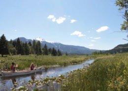 Canadian Wilderness Adventures Canoe Whistler