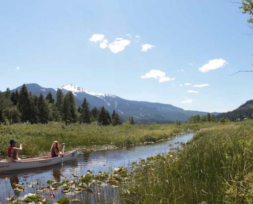 Canadian Wilderness Adventures Canoe Whistler