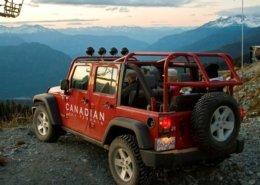 Salmon Bake Jeep Blackcomb Canadian WIlderness Adventures Whistler