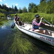 Canadian Wilderness Adventures Whistler Canoe River Golden Dreams Alta Lake