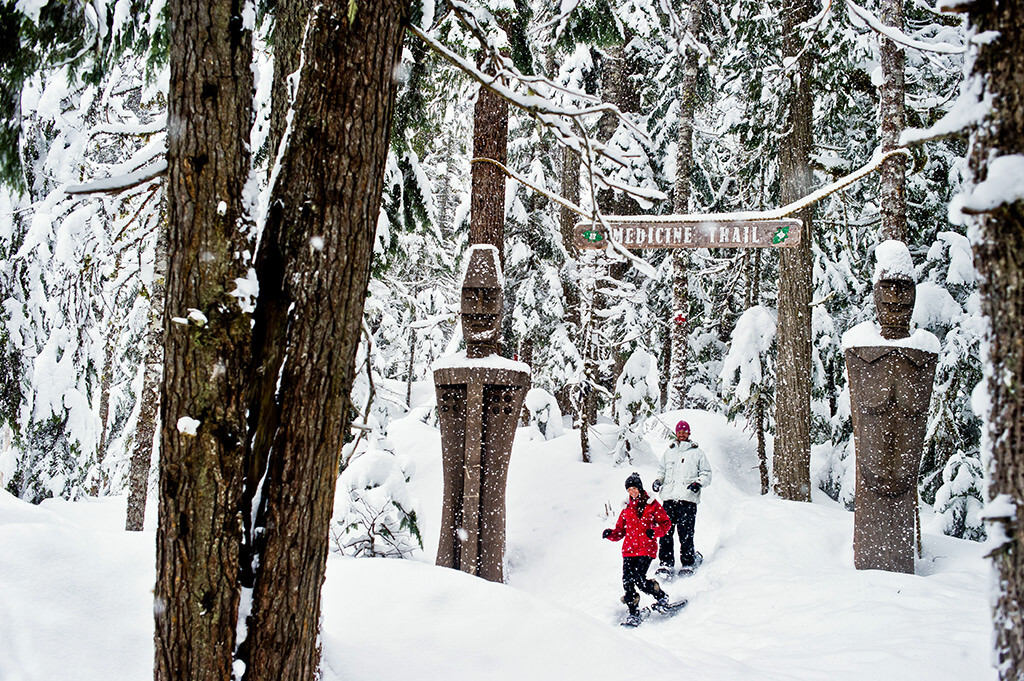 Canadian Wilderness Adventures Whistler Showshoe Tours
