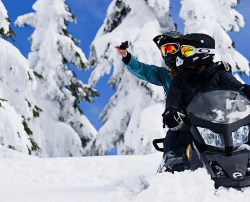 Callaghan Cruiser Snowmobile Tour