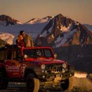 Canadian Wilderness Adventures Whistler Salmon Bake ATV Jeep