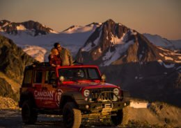 Canadian Wilderness Adventures Whistler Salmon Bake ATV Jeep