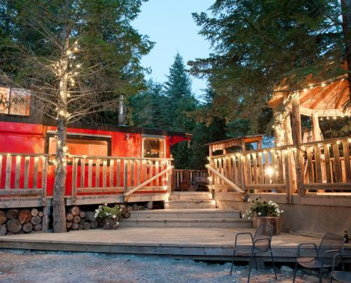 Whistler Wedding Venue Rustic Caboose