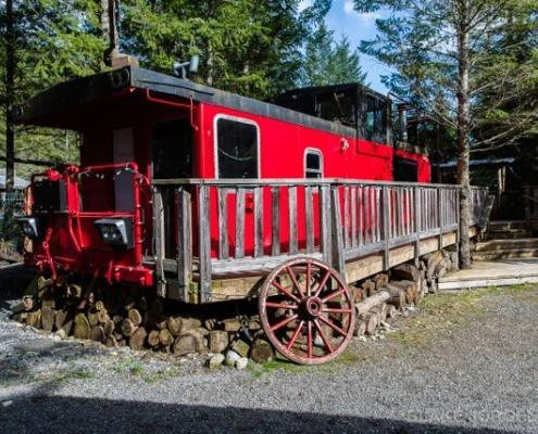 Whistler Wedding Venue Caboose