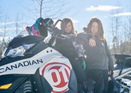 Cally Cruiser Family Snowmobile Tour Whistler BC