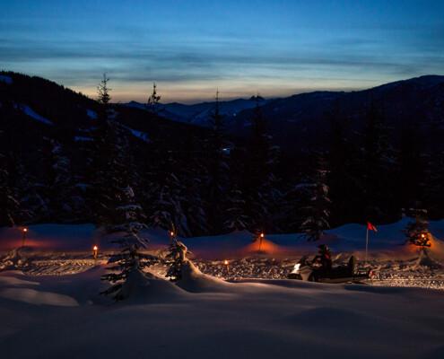 whistler-snowmobile apres blackcomb mountain