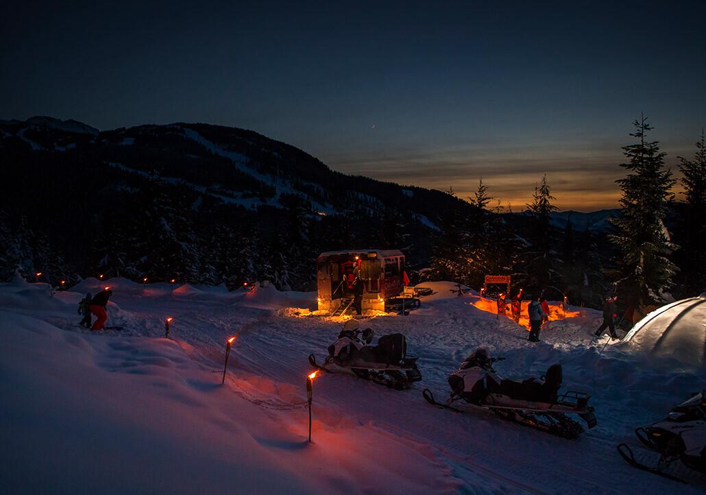 whistler-snowmobile apres blackcomb