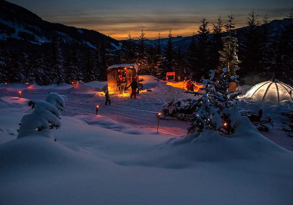 whistler snowmobile apres