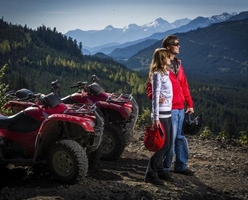 Canadian Wilderness Adventures ATV Callaghan