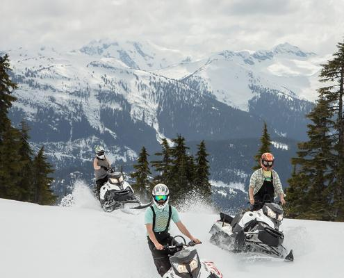 Canadian Wilderness Adventures ATV & Snowmobile Combo Tour Whistler