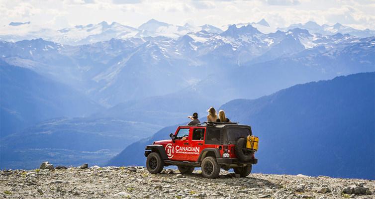 Whistler 4x4 Jeep Tour
