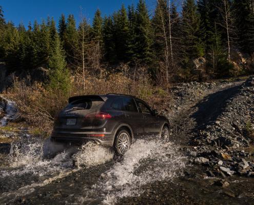 Porsche Experience Canadian Wilderness Adventures Whistler