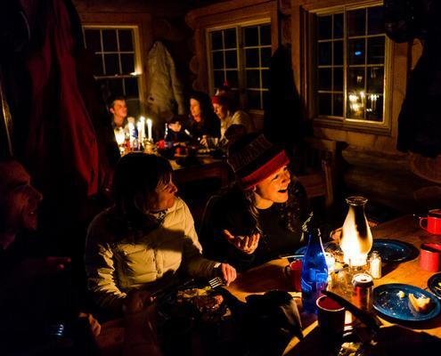 Sproatt Steak Dinner Night Canadian WIlderness Adventures Whistler