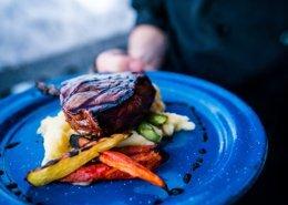 Sproatt Steak Dinner Night Canadian WIlderness Adventures Whistler