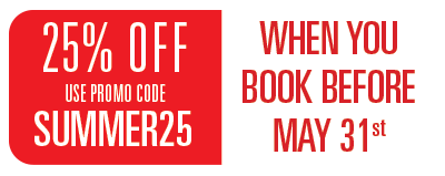 25% OFF with code SUMMER25